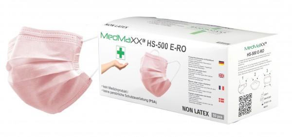 MedMaXX HS-500E-RO 3-lagige Community Gesichtsmasken rosa 50 Stück