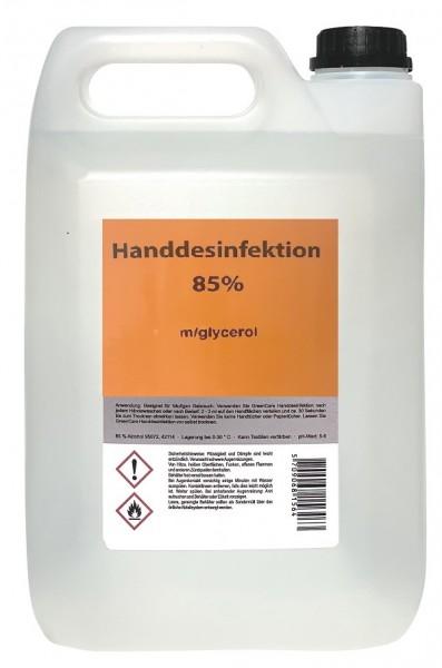 Plum Hygiene Biozid Handdesinfektion 85% Desinfektionsmittel 5.0 Liter