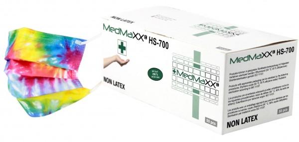 MedMaXX HS-700K-BU medizinische Kinder OP Maske EN14683 bunt 50 Stück