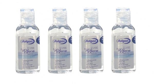 Dulgon antibakterielles Desinfektionsgel für Händedesinfektion 4x 50 ml